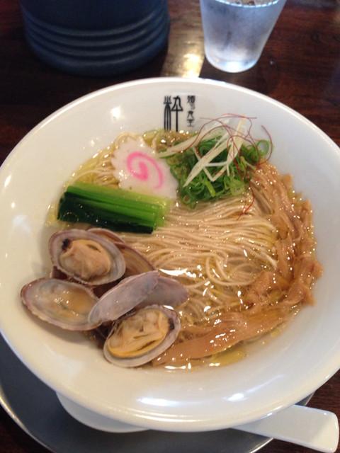 麺's食堂 粋蓮 - 琥珀SOBA(塩)¥900