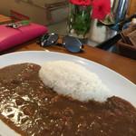 ヤシの木 - 牛肉カレー