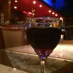 シディークパレス - グラスワイン赤