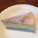 ティールーム藤屋 - 濃厚なチーズの香り