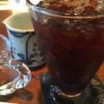 ティールーム藤屋 - アイスコーヒー