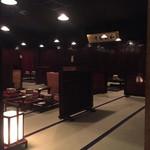 信州長屋酒場 - 2階の座敷をちょっと覗いてみました。