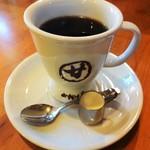 甘味喫茶 おかげ庵 - ブレンドコーヒー(HOT)420円。