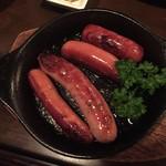 信州長屋酒場 - 軽井沢の腸詰盛り合わせ880円