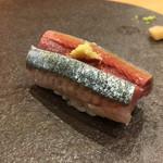 鮨 いずみ - 秋刀魚