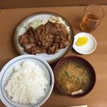55985273 - 生姜焼き定食 780円