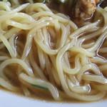 台湾料理 百香軒 - 排骨高菜麺