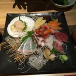 函館海鮮料理 海寿 - 刺身盛り合わせ 二人前
