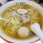 55987818 - 「味玉らー麺(850円)麺中盛(100円)」です