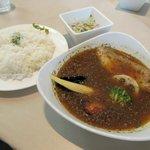 イチロク - 炙りチャーシューと野菜のスープカレー2016.09.09