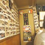 呑ん兵衛神田 - 2016/7/8  店内トイレ前。。