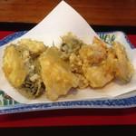 天ぷら はぎ - 料理写真:揚げたて天ぷら♡