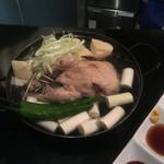 55993426 - 栄養たっぷりな参鶏湯‼️
