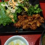 宿下吉庵 - 料理写真:ホルモン焼きランチ