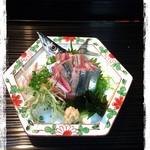 菜 - さんま刺身