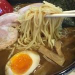 竹屋 - 醤油らあめん 麺リフト