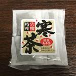 道の駅 宍喰温泉 - 料理写真:寒茶パック 370円