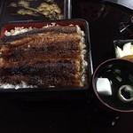 直来 - 2016年9月 鰻重 松(吸い物、香の物付) 4,320円