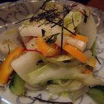 560103 - キャベツとカリカリじゃこの七種野菜の浅漬