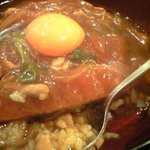信濃庵 - カレー南カツ丼 950円