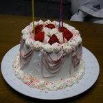 キュイジーヌ・アイ - ご予約にてお誕生日ケーキご用意いたします