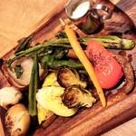 マヌエル タスカ ド ターリョ - 産直野菜のオーブン焼き