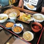 宮の蕎麦 兎屋 - そばご膳(1,250円)
