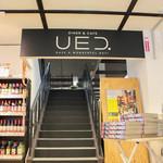 UED. - Maxvalu店内にある階段を上ります☆