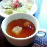 フレンチーナ - コンソメスープ目線で♪(*´∀`)