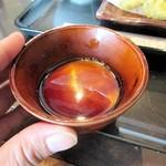 宮の蕎麦 兎屋 - そばご膳(1,250円)に付いていたプリン