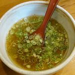 麺場 Voyage - つけ麺 voyage スープ