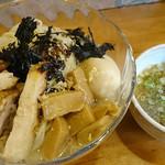 56004795 - つけ麺 voyage (全部のせ)