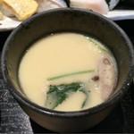 鮨勝 - あったか茶碗蒸し.+:。(´ω`*)゜.+:。