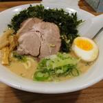 麺家 浜風 - 浜風ラーメン800円