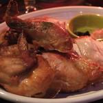 Aloha Amigo harajuku - 食べやすいよう切ってくれたロティサリーフリフリ・チキン