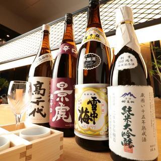 新潟の旨い日本酒だけ品揃え