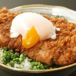 仁屋 - ランチ大人気ぶっかけカツ丼