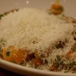 ルフラン - 里芋と帆立のトマトクリームスパゲッティ