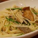 ルフラン - 秋刀魚と水菜の柚子胡椒風味