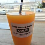 レストラン&バイシクル - ミニッツメイドのオレンジ