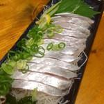 デリカセロリ - 太刀魚の刺身