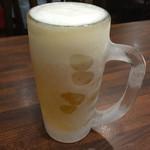 ちょもらんま - 生ビール