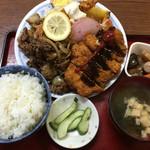 松の家 - まんぷく定食