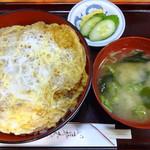 大村庵 - かつ丼950円