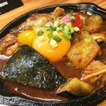 野菜を食べるカレーcamp - 牛すじ煮込みと彩り野菜のカシミールカレー