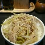麺屋 遊助 - ネギチャーシュー丼
