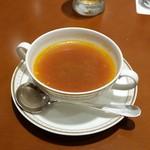 ラウンジ ウィンザー - スープが付くセットです