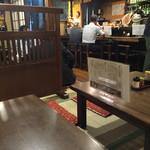 二本松 - 店内風景 カウンター側