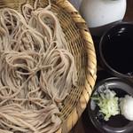 二本松 - 大盛りざる蕎麦@750円