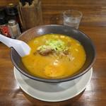 らーめん秀鳳 - 味噌らーめん(麺固め)